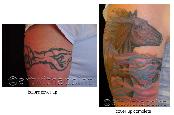 Cover Up: Running Horse
