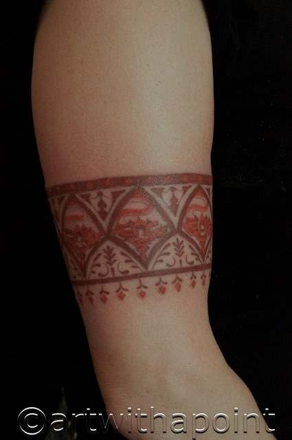 Permanent Henna Tattoo: Henna Style Permanent Ink