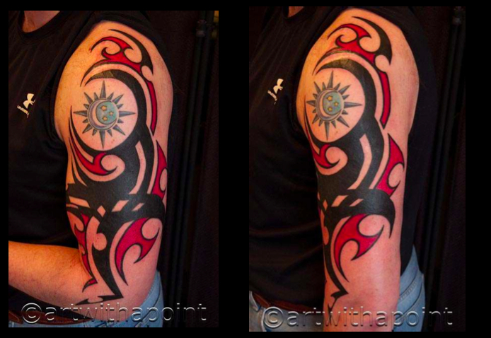 Cover up Complete: Tribal Black and Red
