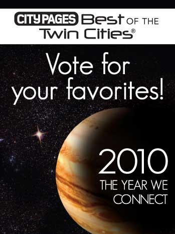 City Pages Best of the Twin Cities 2010