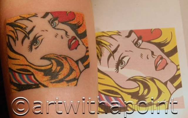 Art With A Point » 2011 » March | Custom Tattoo Studio ...