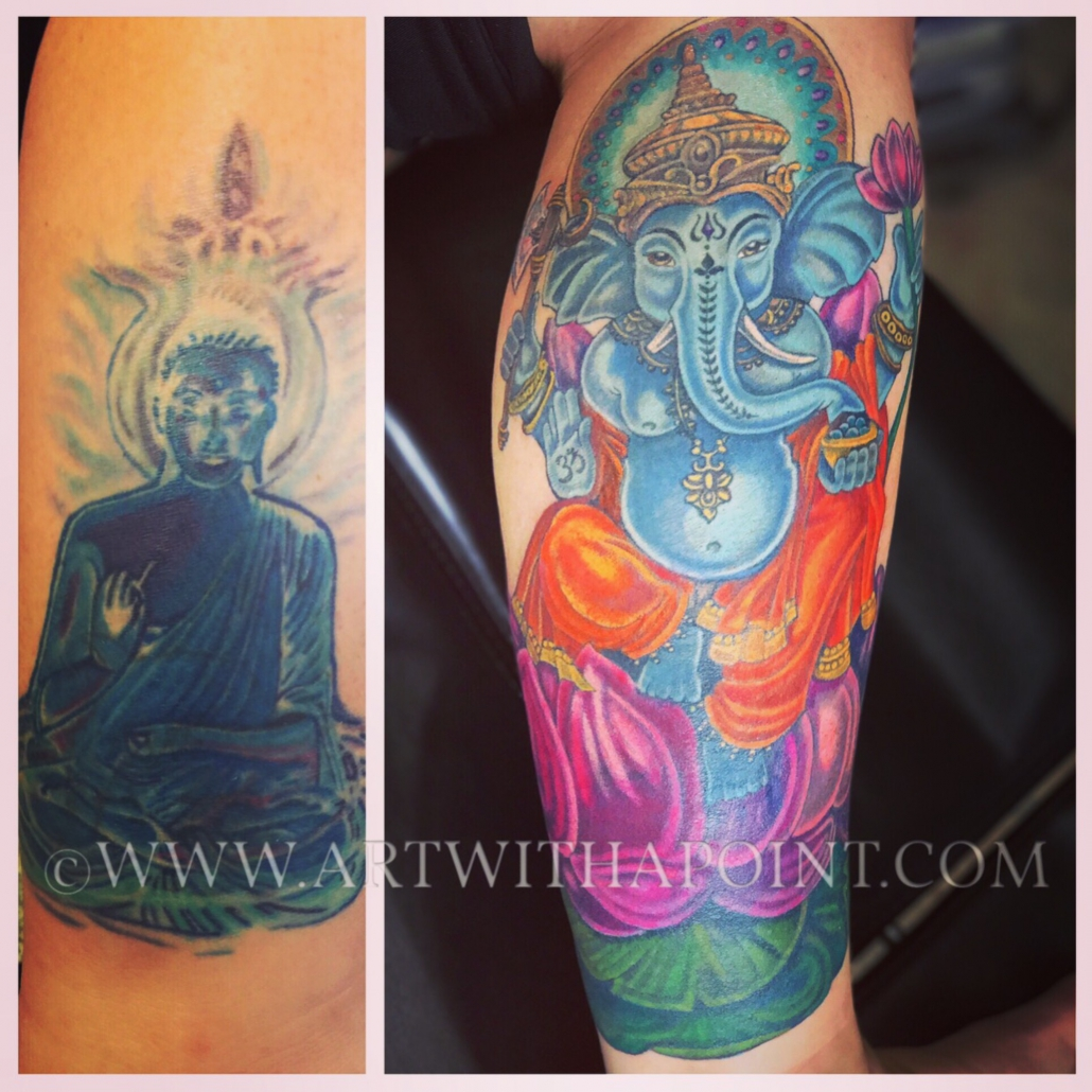 Ganesha Coverup