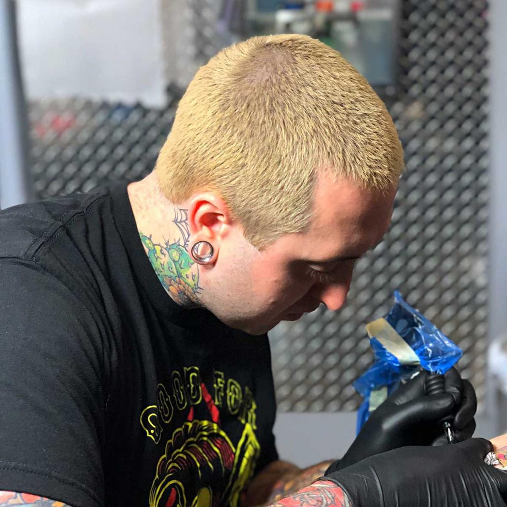 Matt tattooing