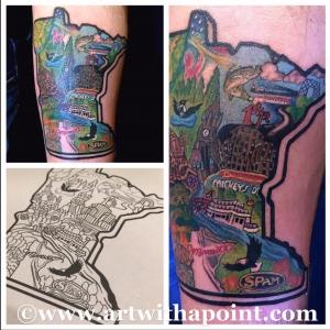 St Paul MN tattoo